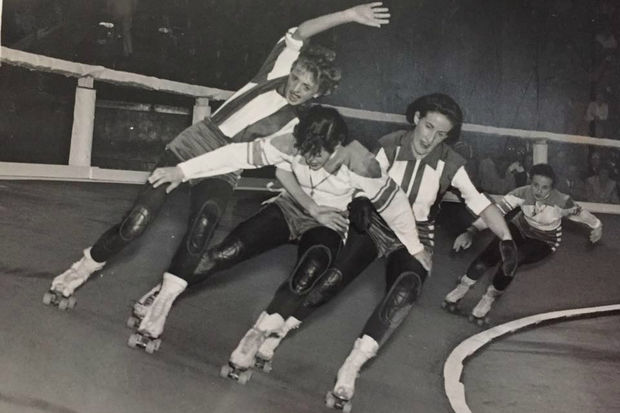 Historic photos of roller derby, the Chicago-born sport that is celebrating its 82nd anniversary next month.