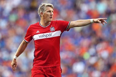 Chicago Fire star Bastian Schweinsteiger is among the MLS All-Stars suiting up against Real Madrid Aug. 3 at Soldier Field.
