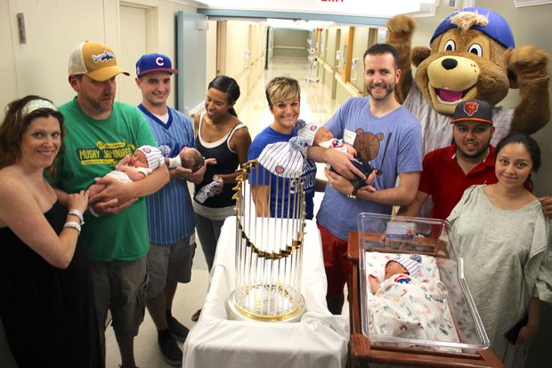 Chicago Cubs capitalise on World Series baby boom