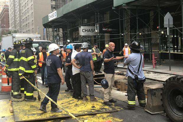 Officials with various agencies were investigating the affected building, they said.