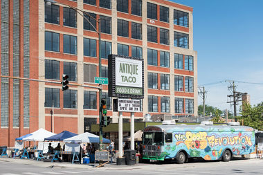 Antique Taco in Bridgeport is hosting its Sunday City Market every Sunday through Sept. 9.