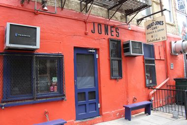 The legendary Great Jones Cafe will be closed for a while, at least.