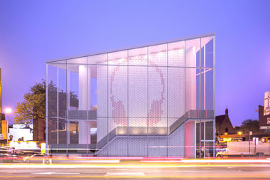 RedSky Capital aims to raze the old Triangle Sports building and an erect a sleep glass building in its place.