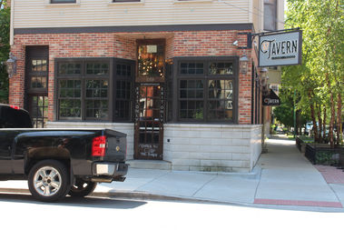 The Wrightwood Tap has reopened as Tavern 57, with the entrance moved to the side on Seminary Avenue.