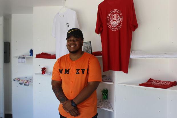 Devonta Boston is the founder of the T-shirt line TGi.