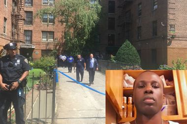 Police fatally shot Dwayne Jeune, who they said charged officers with a knife inside his East Flatbush apartment Monday afternoon.