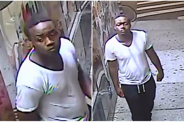 The suspect had walked over to the Broome Street building after visiting a bodega nearby on Ludlow Street, police said.