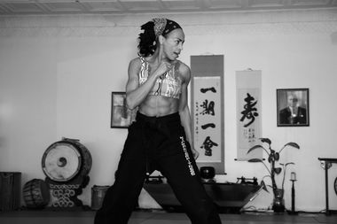 Carol Glasgow will be teaching free kickboxing classes in Brownsville every Tuesday in August.