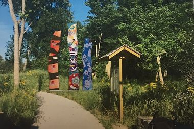 The winning design for a new sculpture at the West Ridge Nature Preserve