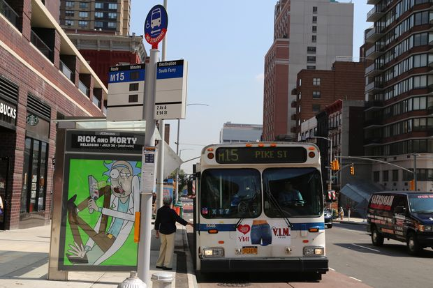 Fifteen countdown clocks have been installed on five bus lines across the Upper East Side, officials said on Thursday, including one at Second Avenue and 94th Street.