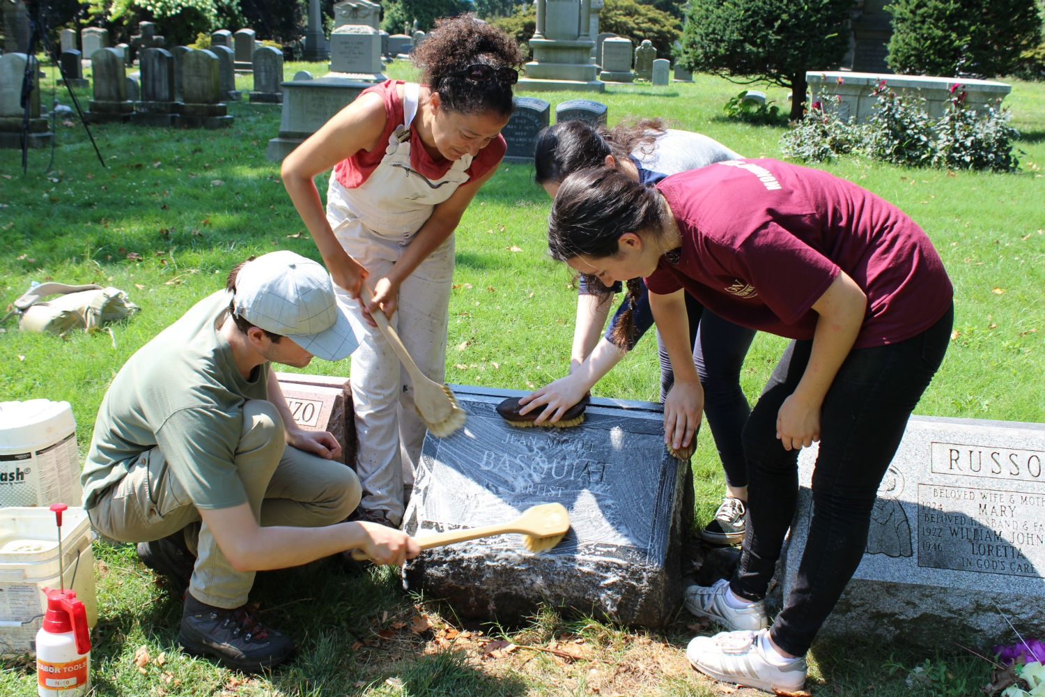 Green-Wood Cemetery Headstone Restoration