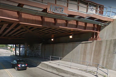 The Metra underpass on Pershing Road will be closed through Sept. 8.