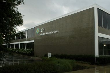 Under the plan, the former CCH building at 4025 W. Peterson Ave. would be razed and replaced with a new office facility.