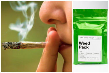 Sales of the Cards Against Humanity Weed Pack raised $70,000 for the Marijuana Policy Project in two weeks.
