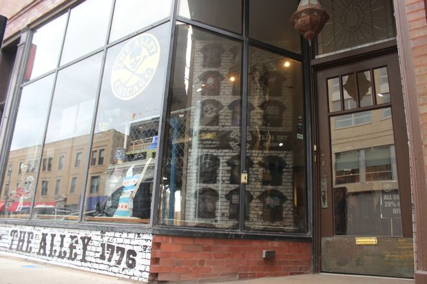 The Alley is back with coffee and a select line of apparel and accessories that made it so well-known as a staple of punk culture in Lakeview.