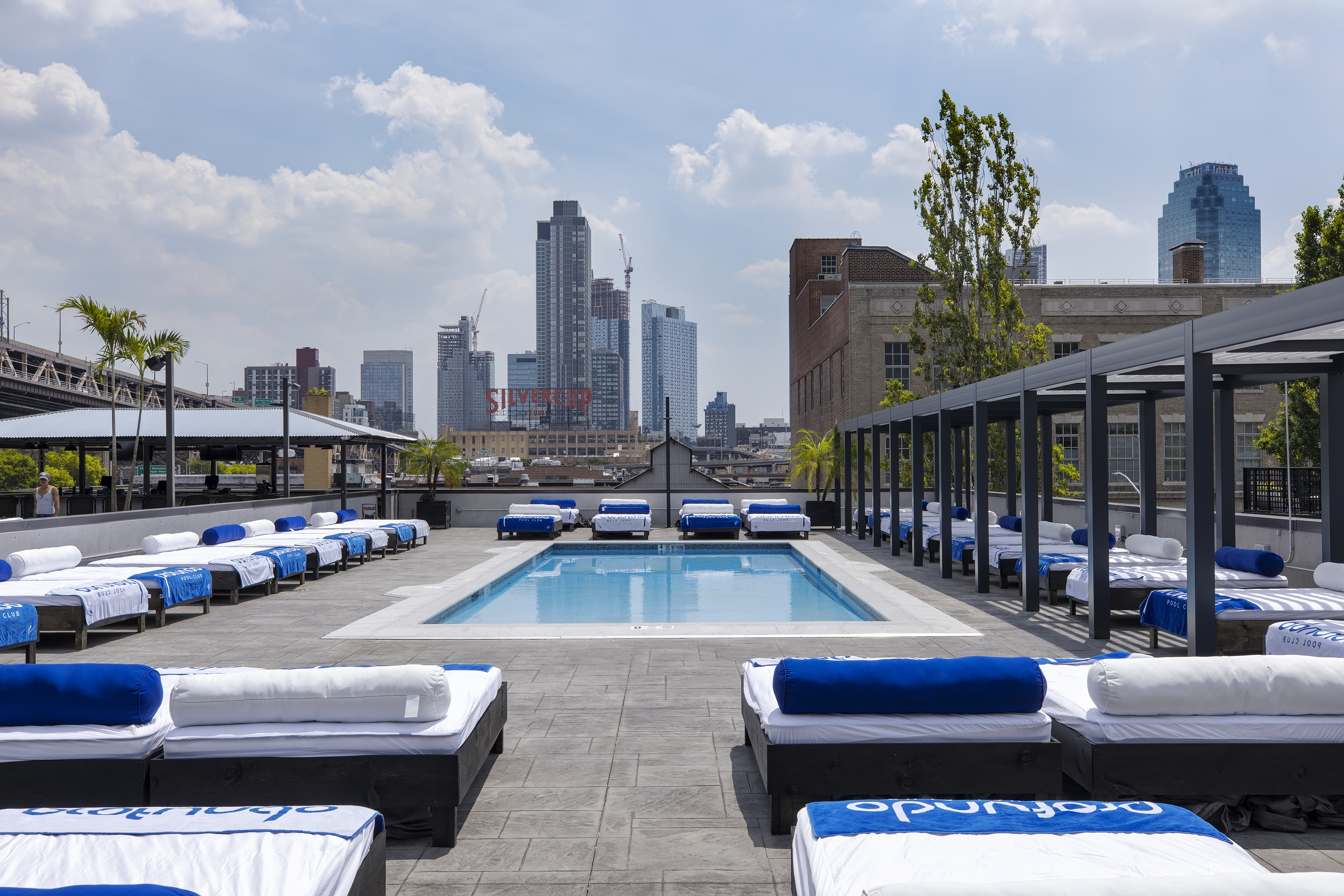 50 a day rooftop pool opens at long island city hotel - New york hotels with rooftop swimming pools ...