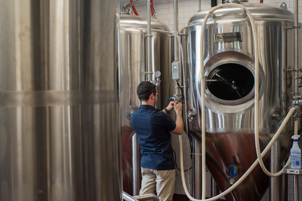 Kills Boro Brewing company made their first large batch last month and plan to official launch in Sept.
