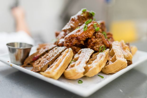 Wings and waffles are on the menu at the Brooklyn Wing House, set to open August 19 in Crown Heights.