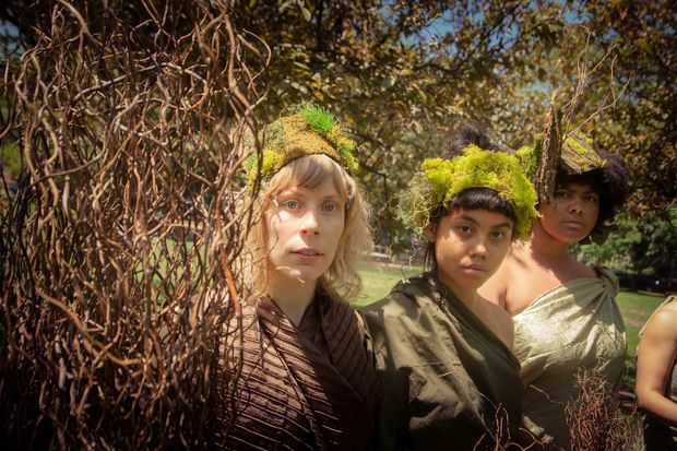"""Scenes from """"A Persephone Pageant"""" which runs from Aug. 20-Sept. 16 in various Chicago Park District parks."""