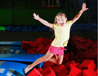 An indoor trampoline park is set to launch on Second Avenue in Sunset Park next May.