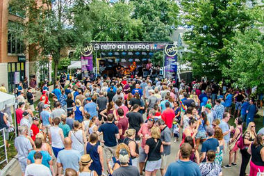The fest runs Friday-Sunday at Damen and Roscoe.