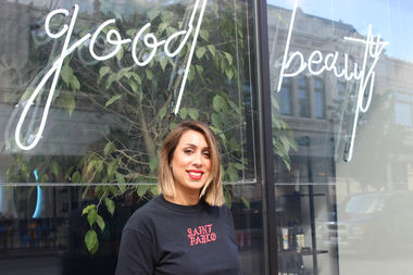 Hair stylist Carla Alvarado is behind Good Beauty, 2777 N. Milwaukee Ave., which debuted to the public July 28.