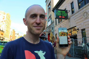 Devoted Park Slope Food Co-op member Jonah Burke designed an app for members and anyone looking to learn more about the co-op and local food.