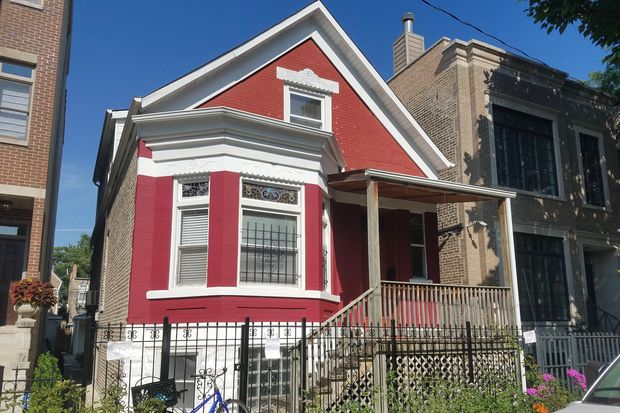 An 1880s era house at 912 N. Wolcott Ave.