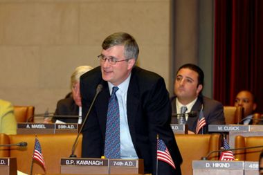 Assemblymember Brian Kavanagh has announced his candidacy for State Senator Daniel Squadron's seat.