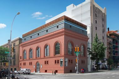 The Landmarks Preservation Commission approved an expansion of the Anthology Film Archives building at 32 Second Ave.