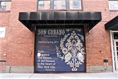 The former Son Cubano space at 544 W. 27th St., between 10th and 11th avenues.