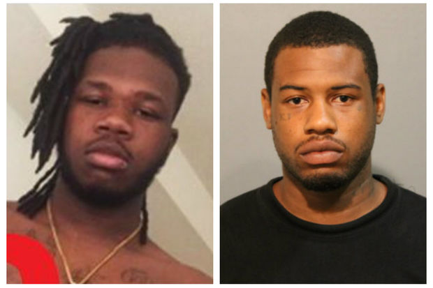 Shaqir Mustapha (left) was arrested in Brooklyn Park, Minn. Aug. 1. A warrant was issued July 10 for Mustapha in the shooting death of Jeremy Ray (right) of Roseland.