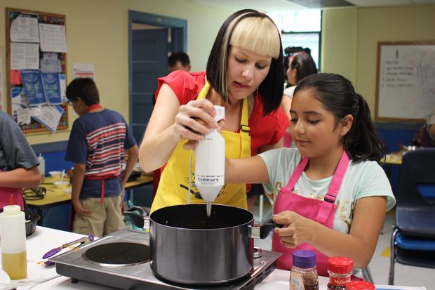 A Pilsen cooking class for children gives its chefs-in-training access to new foods and the steps it takes to make them.