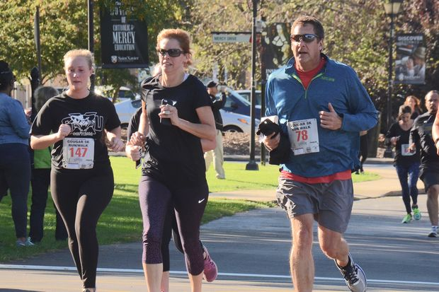 St. Xavier University's 17th annual Cougar 5K Run/Walk returns at 9 a.m. Sept. 30 to the university's main campus at 3700 W. 103rd St. in Mount Greenwood.