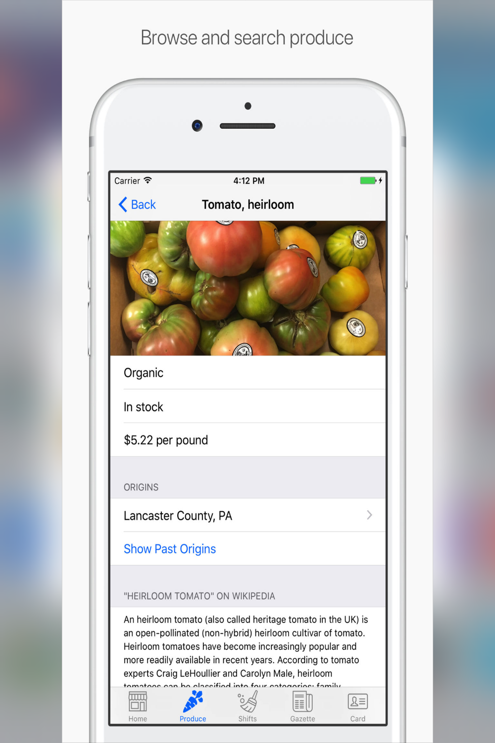 Park Slope Food Co-op App