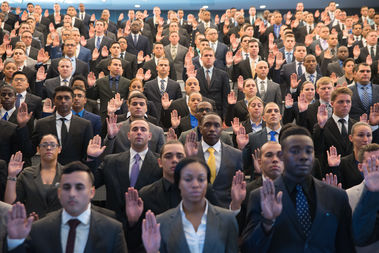 Walton Isaacson has been selected by the NYPD to boost diversity and service-minded police recruits.