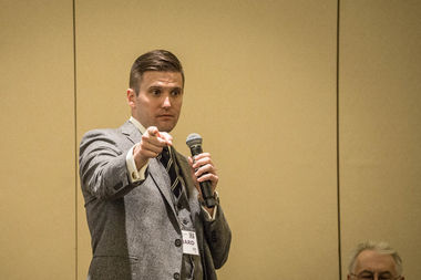 White Nationalist Richard Spencer asked a U. of C. professor who defended his free speech rights to speak on campus and was shot down as