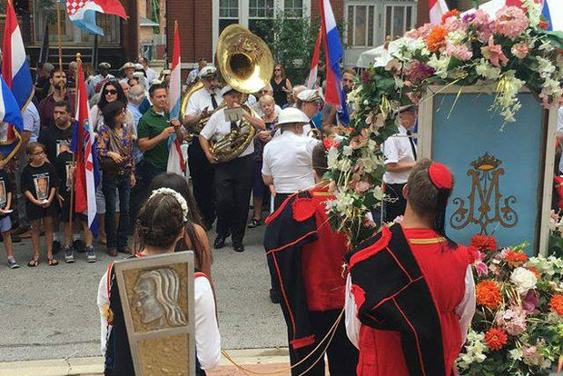 The Feast of Velika Gospa will wind through Armour Square streets Tuesday.