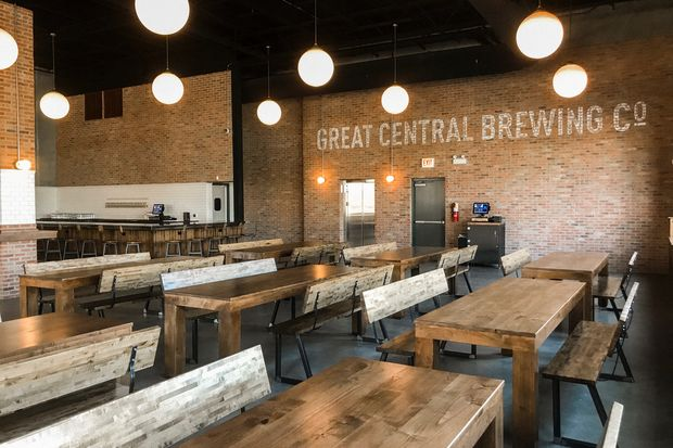 The city's first craft-dedicated contract brewery now has a taproom to exhibit all its best brews.