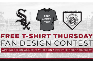 Enter the White Sox T-shirt contest and your design could be the next ballpark giveaway.