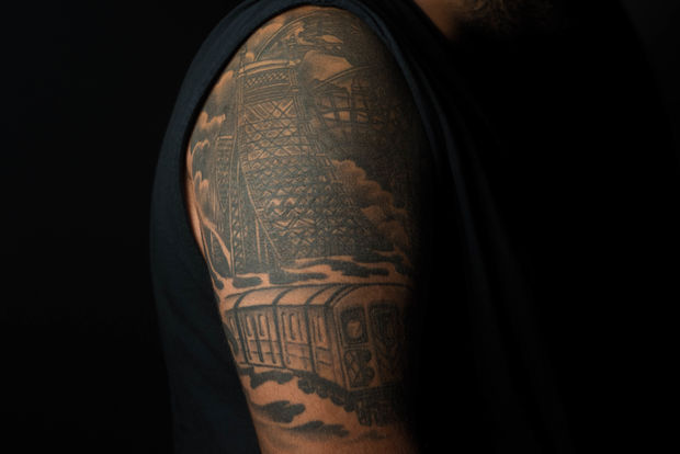 The best new york city themed tattoos on social media for Omega tattoo jackson heights