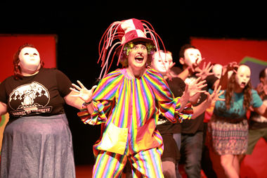 The theater ensemble Barrel of Monkeys was one of 50 groups that performed in this year's Chicago Fringe Festival.