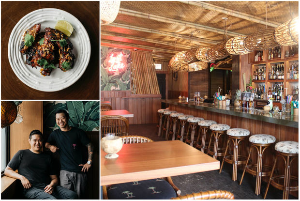 More than a year after a fire  gutted Lost Lake's adjoining eatery , the wildly popular tiki spot is once again offering food options to tipsy patrons.