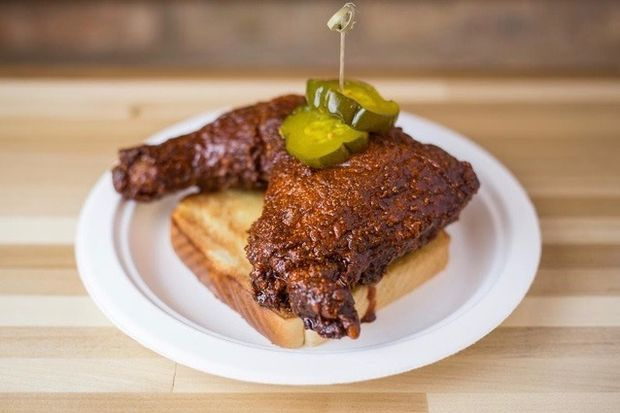 Budlong Hot Chicken will be one of three restaurants in the Beacon St. Market.