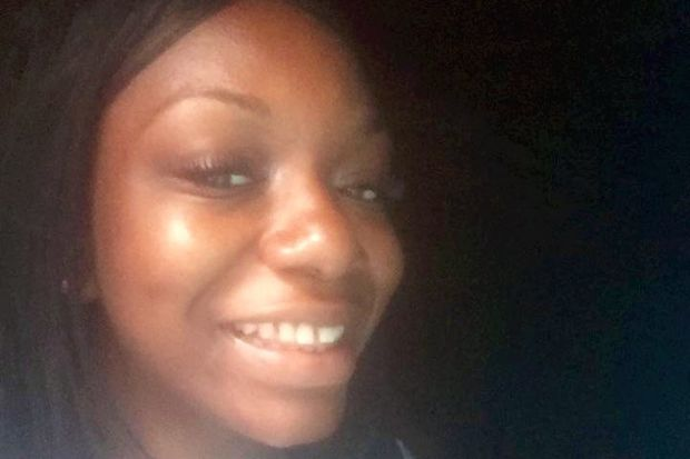 Teriana Holcombe, 21, was fatally shot on Aug. 15 in St. Albans.