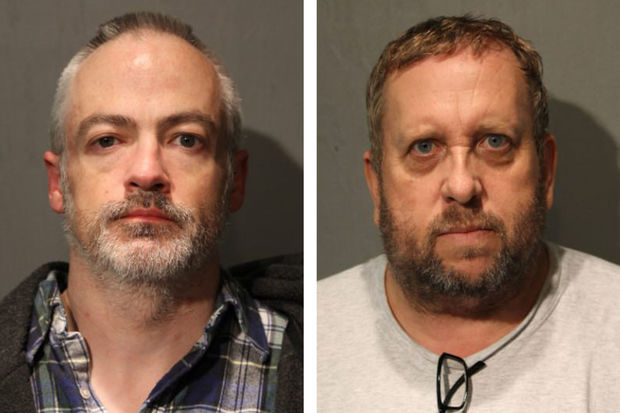 Wyndham Lathem, 43, and Andrew Warren, 56, are charged with first-degree murder.