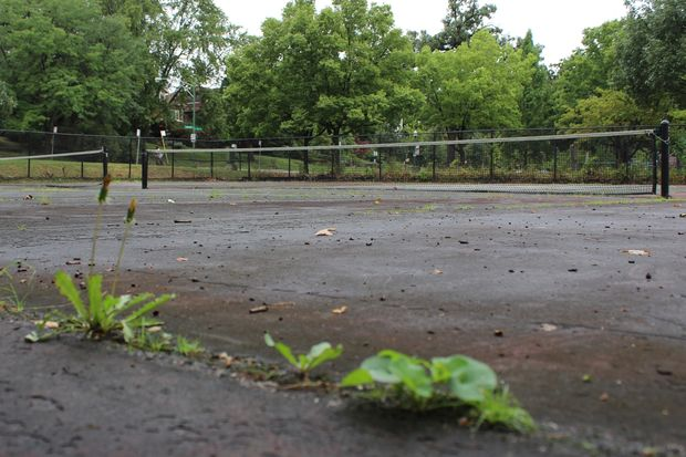 Three tennis courts at Maggie Cosme Park in North Beverly will be resurfaced this year, according to Ald. Matt O'Shea (19th). The park at 9201 S. Longwood Dr. also features a playground and baseball field.