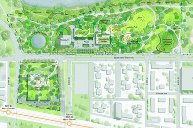The Obama Presidential Center is sticking to its pledge to only use 21 acres of land in Jackson Park — but acknowledged on Wednesday that the footprint for the plan had changed significantly and now includes 5 more acres of land next to the park for a garage.