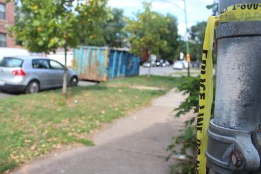 A woman died after being shot 12 times Wednesday morning in Logan Square, according to police.