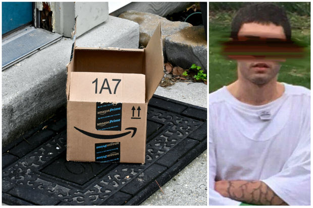 This man was seen by multiple neighbors stealing packages from Rogers Park buildings.
